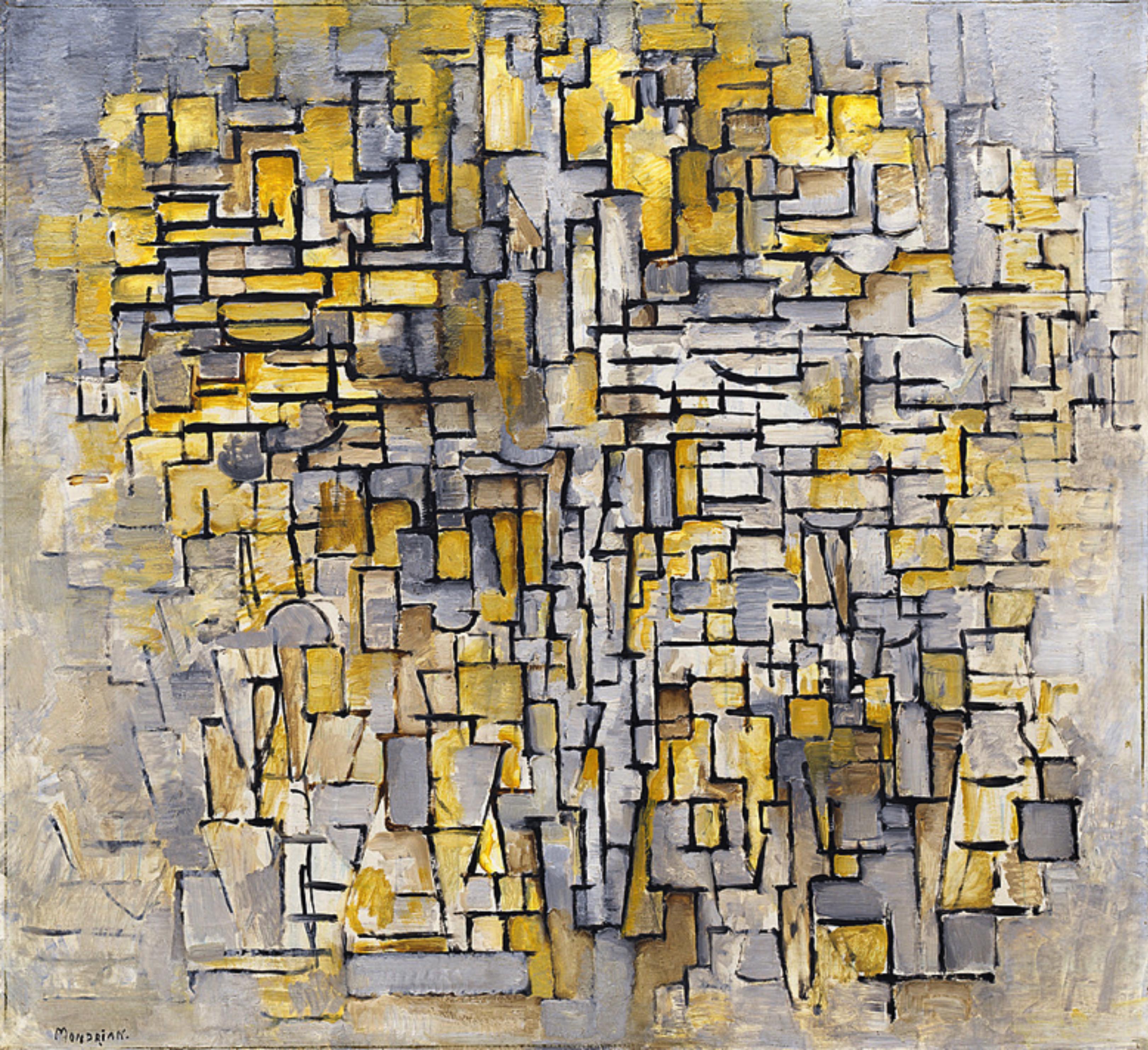 Early Mondrian